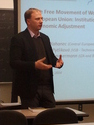 Martin Kahanec completes his US tour with a seminar at New York University