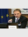 Martin Kahanec delivered a speech about migration policy at the European Parliament